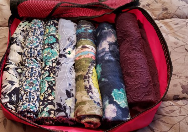 Using Packing Cubes to pack my Backpack