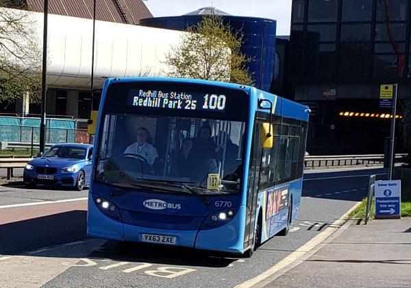 Bus to Hurley UK