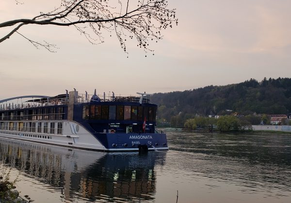 Vilshofen & First view of the Danube