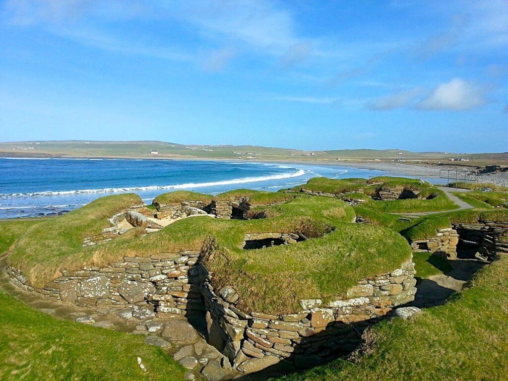 Prehistoric village of Skara Brae