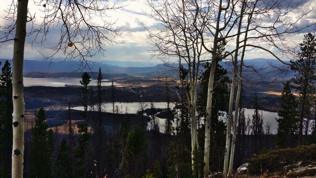 Grand Lake from Shadow Mountain