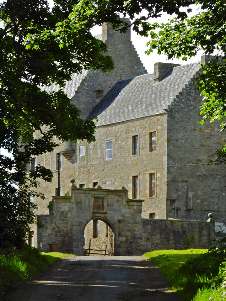 Lallybroch as seen on our Outlander Tours of Scotland