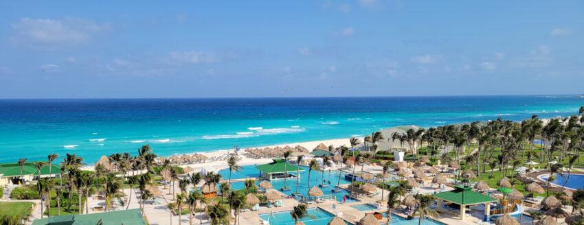 Cancun beach from Iberostar Resort